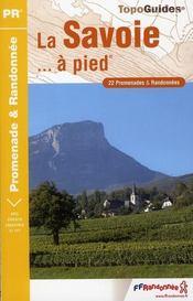 La Savoie à pied ; 73 - pr - d073 - Intérieur - Format classique