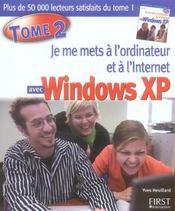Special debutants - je me mets a l'ordinateur et a l'internet, tome 2 - Intérieur - Format classique