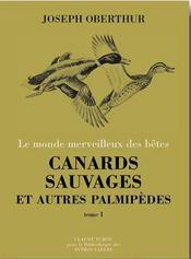Canards sauvages et autres palmipèdes t.2 - Intérieur - Format classique
