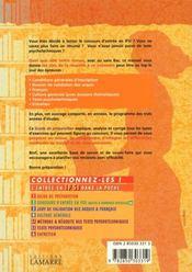 Guide De Preparation Tome 1 - 4ème de couverture - Format classique