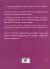 Voie De L'Initiation Maconnique (La) - 4ème de couverture - Format classique