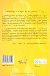 Le Populaire A Table Le Boire Et Le Manger - 4ème de couverture - Format classique