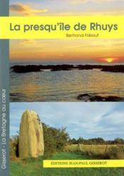 La Presqu'Ile De Rhuys - Couverture - Format classique