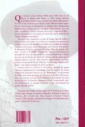 Federico fellini conteur et humoriste 1939-1942 - 4ème de couverture - Format classique