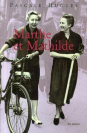 Marthe et Mathilde - Couverture - Format classique