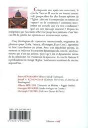 Qui a peur de vatican II ? - 4ème de couverture - Format classique