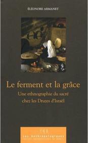 Le Ferment Et La Grace - Couverture - Format classique