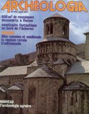 Archeologia n°109 aout 1977 - Couverture - Format classique