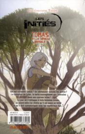 Les initiés ; Tomas et le réseau invisible - 4ème de couverture - Format classique