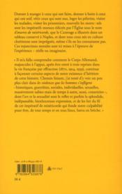 Les oeuvres de miséricorde - 4ème de couverture - Format classique