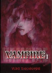 Vampire t.1 - Couverture - Format classique