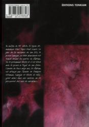Vampire t.1 - 4ème de couverture - Format classique