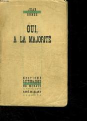 Oui A La Majorite. - Couverture - Format classique
