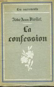 La Confession. - Couverture - Format classique