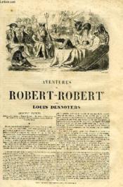 Aventures De Robert-Robert - Couverture - Format classique