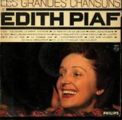 Disque Vinyle 33t Les Grandes Chansons / Le Fanion De La Legion / Mon Legionnaire / Il Riait / Le Disque Use / Fais Moi Valser / Un Jeune Homme Qui Chantait / L'Accordeoniste... - Couverture - Format classique