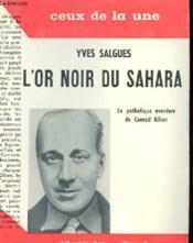 L'Or Noir Du Sahara - La Pathetique Aventure De Conrad Kilian - Couverture - Format classique