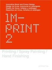 Imprint 2 : design de livres, brochures et catalogues - Couverture - Format classique