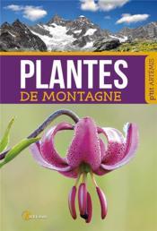 Plantes de montagne - Couverture - Format classique