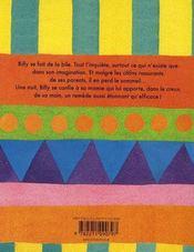 Billy se bile - 4ème de couverture - Format classique