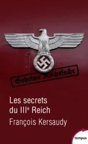 Les secrets du IIIe Reich - Couverture - Format classique