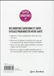 Super smoothies - 4ème de couverture - Format classique