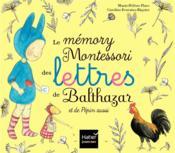 Le mémory Montessori des lettres de Balthazar et de Pépin aussi - Couverture - Format classique