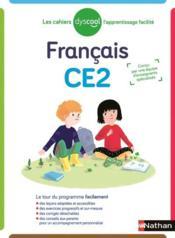 Français ; CE2 (édition 2019) - Couverture - Format classique