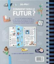 Comment sera le futur ? - 4ème de couverture - Format classique