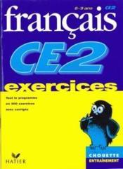 Chouette Entrainement ; Français ; Ce2 ; Exercices - Couverture - Format classique