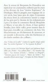 L'Ame De La Vallee T.3 - 4ème de couverture - Format classique