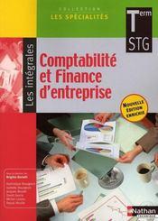 Comptabilité et finance d'entreprise ; intégrale ; terminale STG ; livre de l'élève (édition 2008) - Intérieur - Format classique