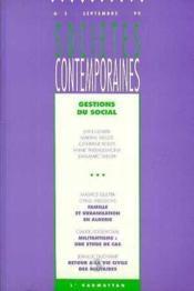 Societes Contempor N°3 - Couverture - Format classique