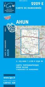 Ahun - Couverture - Format classique