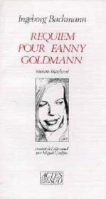 Requiem pour fanny goldmann - Couverture - Format classique