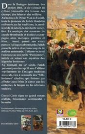 Le sonneur des halles - 4ème de couverture - Format classique