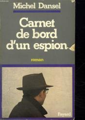Carnet de bord d'un espion - Couverture - Format classique