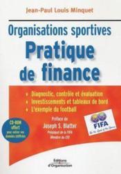 Pratique de finance des organisation sportives - Couverture - Format classique