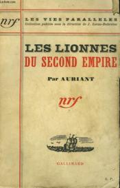 Les Lionnes Du Second Empire. - Couverture - Format classique