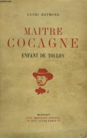 Maitre Cocagne, Enfant De Toulon - Couverture - Format classique