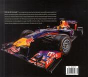 Art de la formule 1 - 4ème de couverture - Format classique