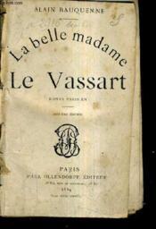 La Belle Madame Le Vassart - Roman Parisien - 7e Edition. - Couverture - Format classique