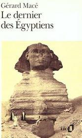 Le dernier des Egyptiens - Intérieur - Format classique