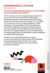 Schrödinger à la plage ; la physique quantique dans un transat - 4ème de couverture - Format classique