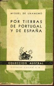 Por Tierras De Portugal Y De Espana - Couverture - Format classique
