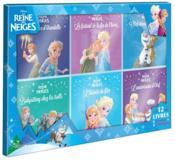 La Reine des Neiges ; coffret 12 livres - Couverture - Format classique