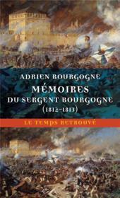 Mémoires du Sergent Bourgogne - Couverture - Format classique