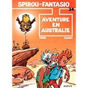 Les aventures de Spirou et Fantasio T.34 ; aventure en Australie - Couverture - Format classique