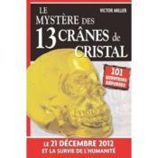 Le mystère des 13 crânes de cristal - Couverture - Format classique