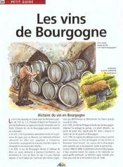 Petit Guide T.89 ; Les Vins De Bourgogne - Intérieur - Format classique